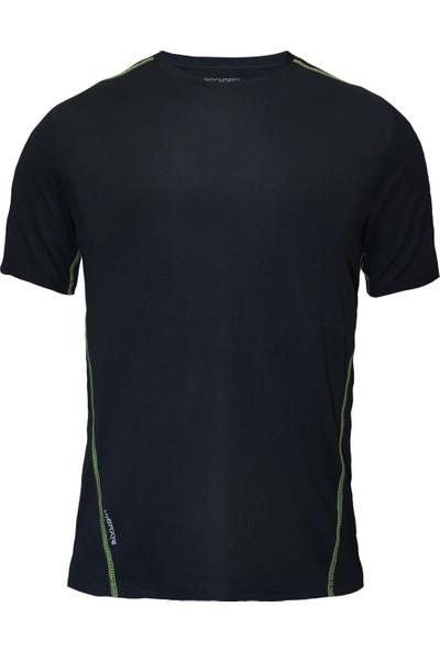 Sivugin Outdoor Koşu Antreman Tişört Erkek -Siyah
