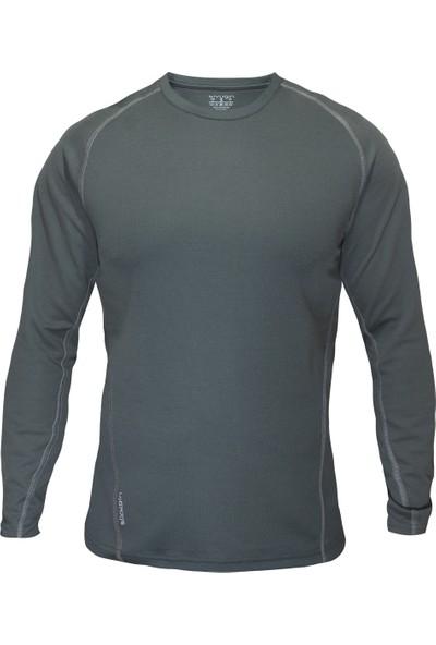 Sivugin Uzun Kollu Outdoor Koşu Spor Tişört -Haki