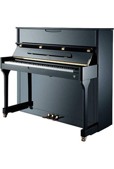 Johannes Seiler Model 114 Traditio Akustik Duvar Piyanosu - Parlak Siyah