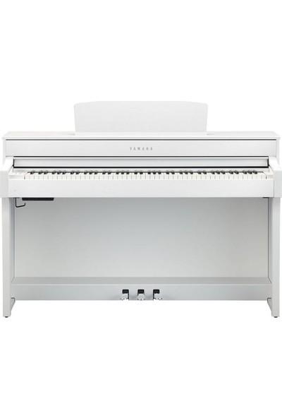 Yamaha CLP-645WH Dijital Piyano - Mat Beyaz