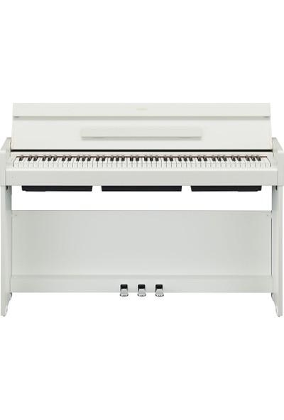 Yamaha YDP S34WH Dijital Piyano - Beyaz