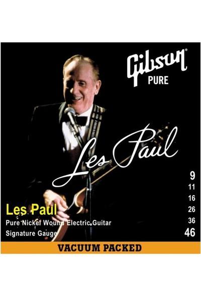 Gibson Les Paul SEG-LPS Elektro Gitar Teli - 09-46