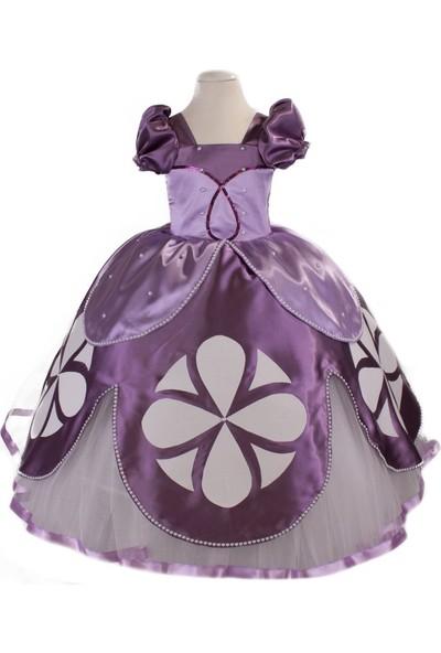 Pan Kostüm & Tasarım Prenses Sofia Kız Çocuk Kostüm