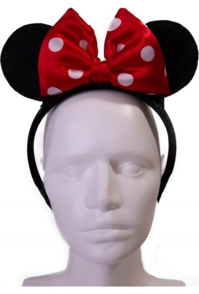 Pan Kostüm & Tasarım Minnie Mouse Kırmızı Taç