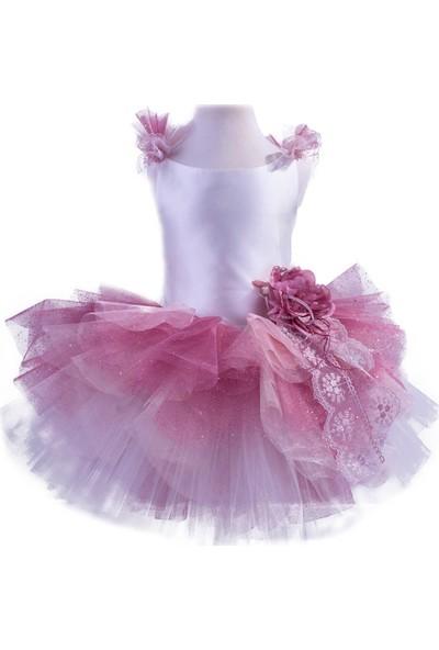 Pan Kostüm & Tasarım Pink Rose Tasarım Çocuk Kostümü