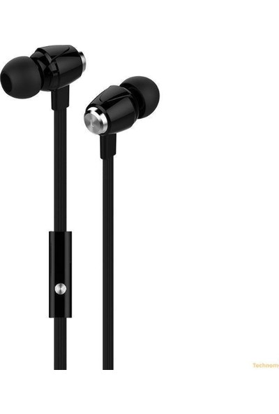 HyperGear Kablolu Kulaklık 3.5 mm - Siyah