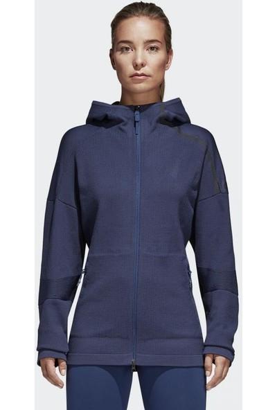 adidas Kadın Ceketi Spor Mavi Cf1467 W Zne 36H Pk H