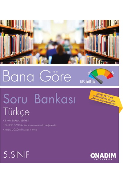 5.Sınıf Bana Göre Türkçe Sb Başlıyorum-Hazırım