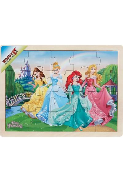 Woody Disney Princess 20 Parça Ahşap Oyuncak Yapboz Bahçe