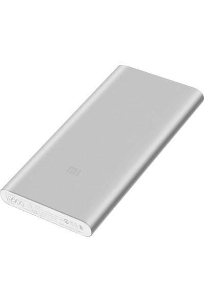 Xiaomi 10000 mAh (Versiyon 3) Taşınabilir Şarj Cihazı Gümüş (İnce ve Hafif Kasa)
