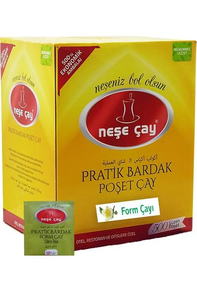 Neşe Çay Pratik Bardak Poşet Form Çayı 500'lü