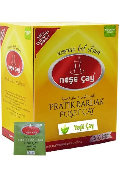 Neşe Çay Pratik Bardak Poşet Yeşil Çay 500'lü