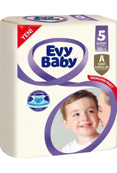 Evy Baby Bebek Bezi 5 Beden Junior Jumbo Paket 30 Adet