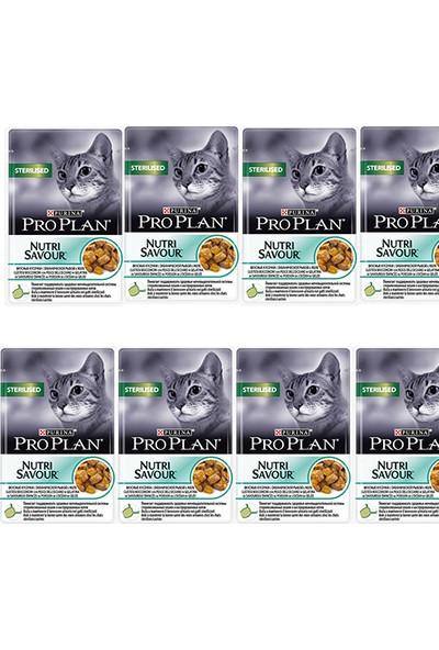 Pro Plan Sterilised Cat Kısırlaştırılmış Balıklı Kedi Yaş Maması 85 Gr x 8 adet