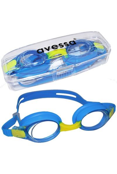 Avessa Çocuk Yüzücü Gözlüğü Havuz Gözlüğü Mavi 2670