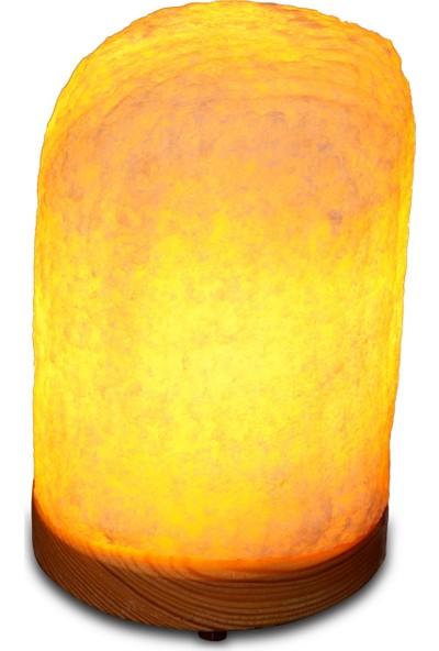 Doğal Kaya Tuzu Lambası 2-2,5 Kg +Tanıtıma Özel Seramik Bıçaklı Değirmen