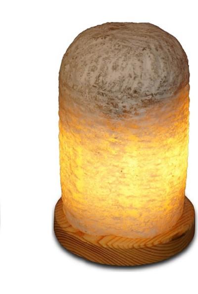 Çankırı Kaya Tuzu Tescilli Çankırı Kaya Tuzu'Dan Doğal Tuz Lambası 10 Kg+Tanıtıma Özel Seramik Bıçaklı Değirmen