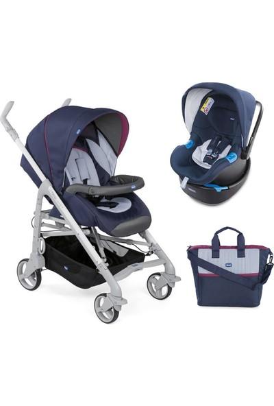 Chicco Duo Love Up Travel Sistem Bebek Arabası - Lacivert