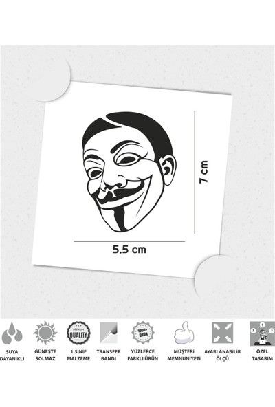 Çınar Extreme Comic Vendetta Sticker