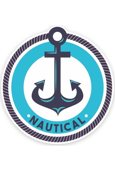 Çınar Extreme Nautical Anchor Sticker