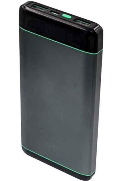 Dexim DAKSP0015 10000 mAh Metal Powerbank - Space Grey