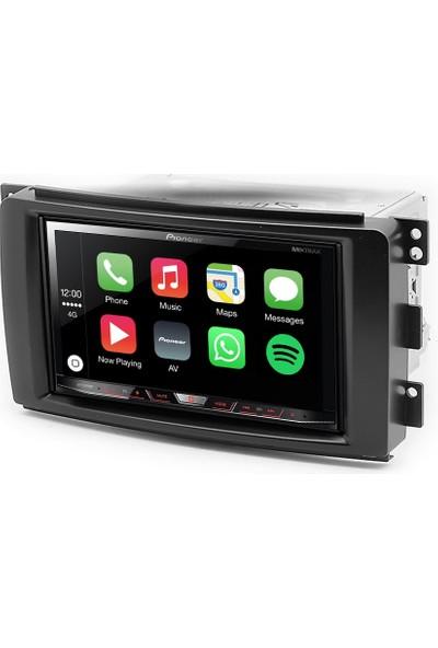 Pioneer Smart Fortwo Forfour Apple Carplay Android Auto Multimedya Sistemi 7 İnç