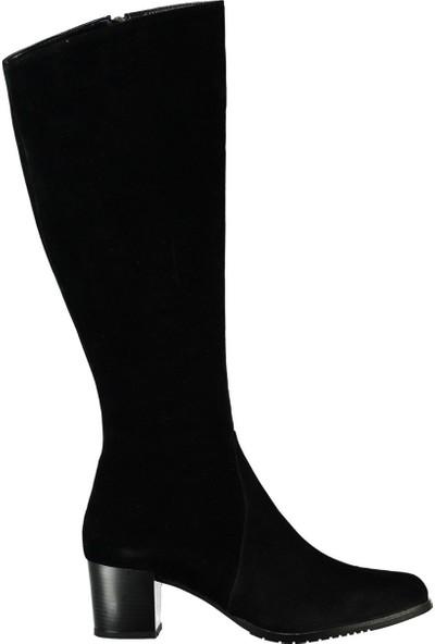 Fox Shoes Siyah Kadın Çizme A654252702