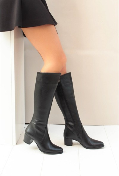 Fox Shoes Siyah Kadın Çizme A654252709