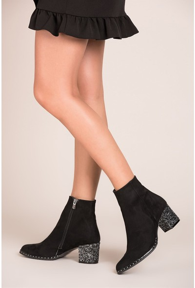 Fox Shoes Siyah Kadın Bot C654013344
