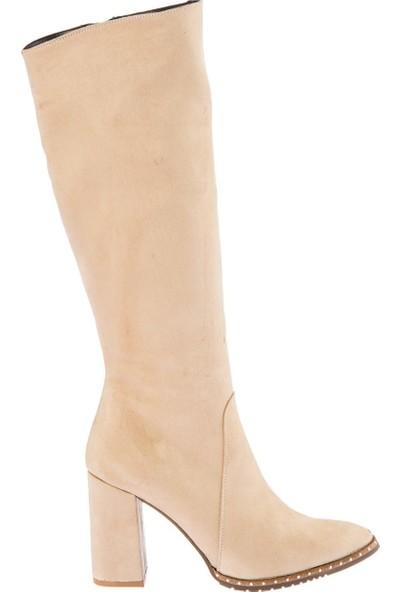 Fox Shoes Bej Kadın Çizme C654088502