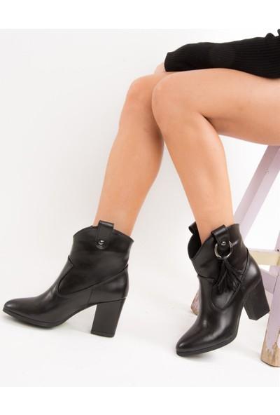 Fox Shoes Siyah Kadın Bot E340805009