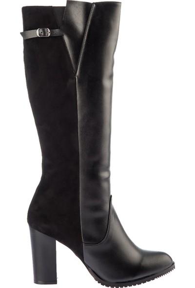 Fox Shoes Siyah Kadın Çizme E654018745