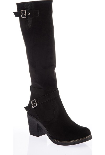 Fox Shoes Siyah Kadın Çizme C674250102