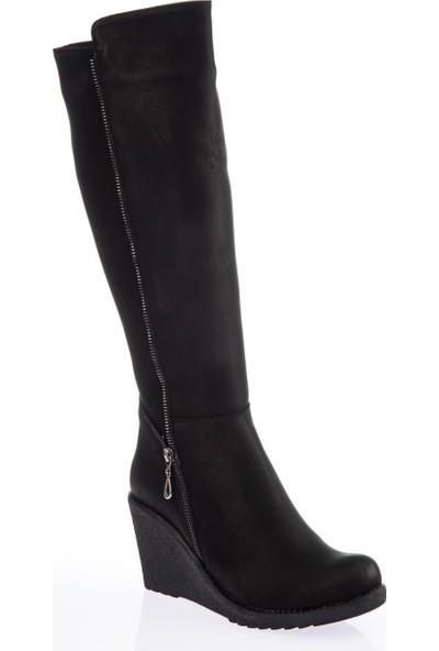Fox Shoes Siyah Kadın Çizme E674220209
