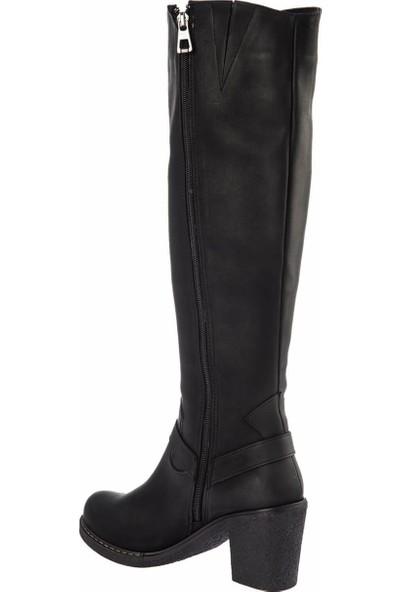 Fox Shoes Siyah Kadın Çizme E674250009