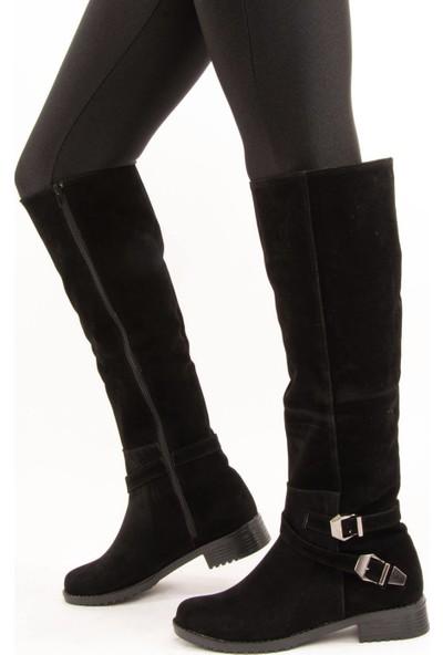 Fox Shoes Siyah Kadın Çizme E726203402