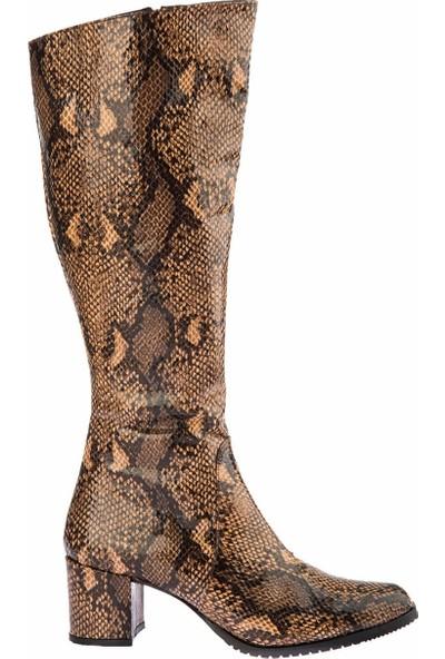 Fox Shoes Taba Kadın Çizme A654252707