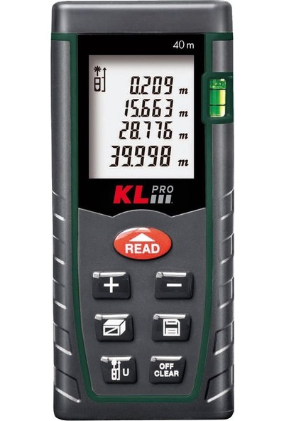 KLPRO KLLZM40 40m Profesyonel Lazermetre