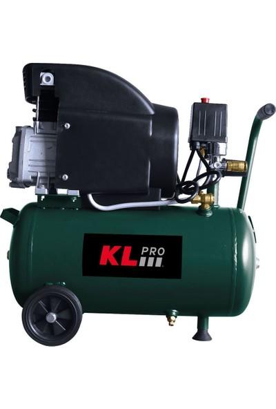 KLPRO KLK25 2HP 24Lt 8Bar Hava Kompresörü