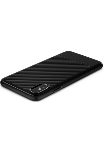 Spigen Apple iPhone XS / iPhone X Kılıf Core Armor Black - 063CS24941