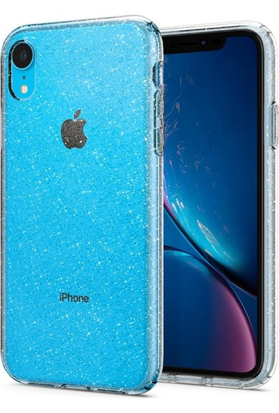 Spigen Apple iPhone XR Kılıf Liquid Crystal Glitter Crystal Quartz - 064CS24867