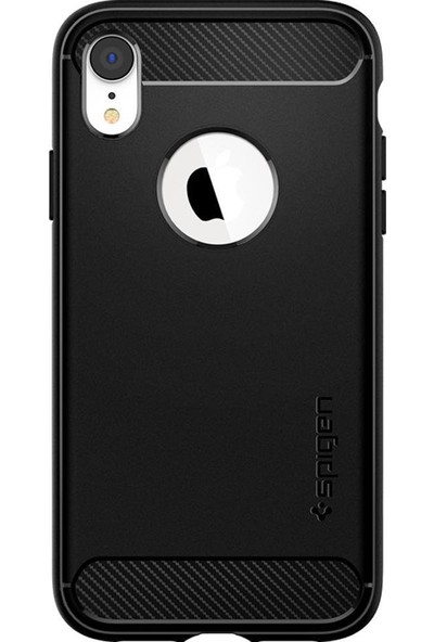 Spigen Apple iPhone XR Kılıf Rugged Armor Matte Black - 064CS24871