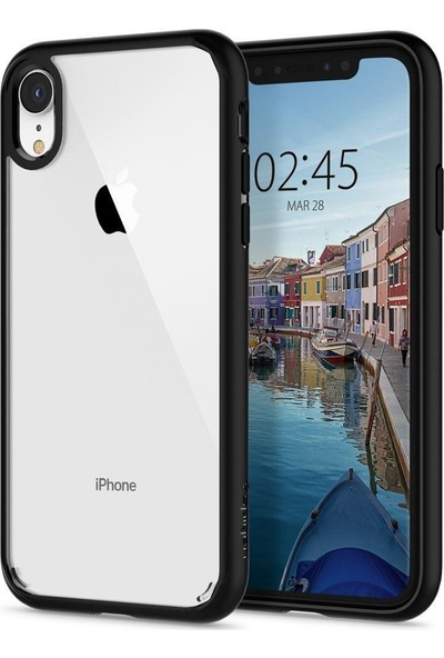 Spigen Apple iPhone XR Kılıf Ultra Hybrid Matte Black - 064CS24874