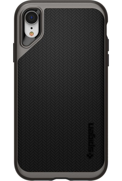 Spigen Apple iPhone XR Kılıf Neo Hybrid Gunmetal - 064CS24878
