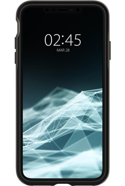Spigen Apple iPhone XS Max Kılıf Neo Hybrid Gunmetal - 065CS24838