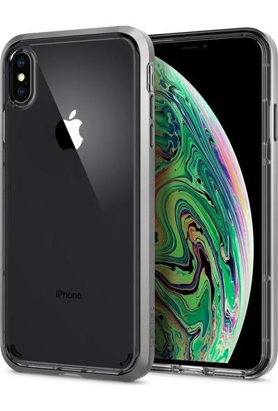 Spigen Apple iPhone XS Max Kılıf Neo Hybrid Crystal Satin Silver - 065CS24845