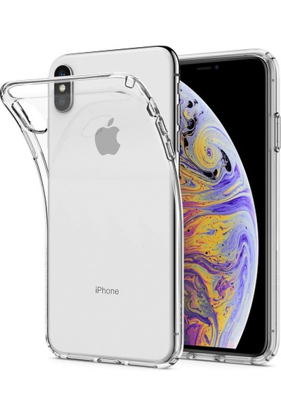 Spigen Apple iPhone XS Max Kılıf Crystal Flex Crystal Clear - 065CS24862