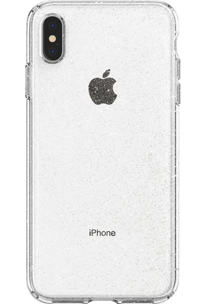 Spigen Apple iPhone XS Max Kılıf Liquid Crystal Glitter Crystal Quartz - 065CS25123