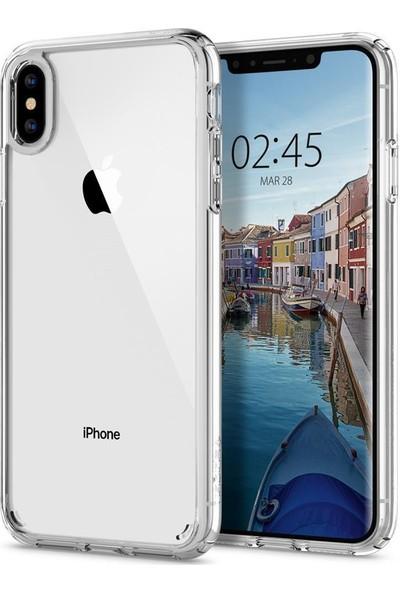 Spigen Apple iPhone XS Max Kılıf Ultra Hybrid Crystal Clear - 065CS25127