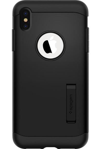 Spigen Apple iPhone XS Max Kılıf Slim Armor Black - 065CS25156